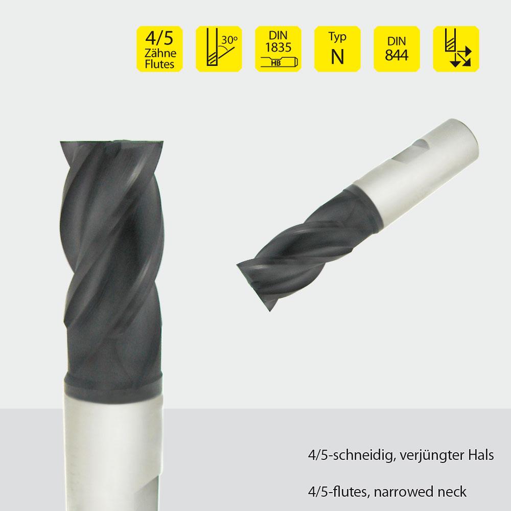 Hardal-HSS-Fräser z=4 Ø 20mm