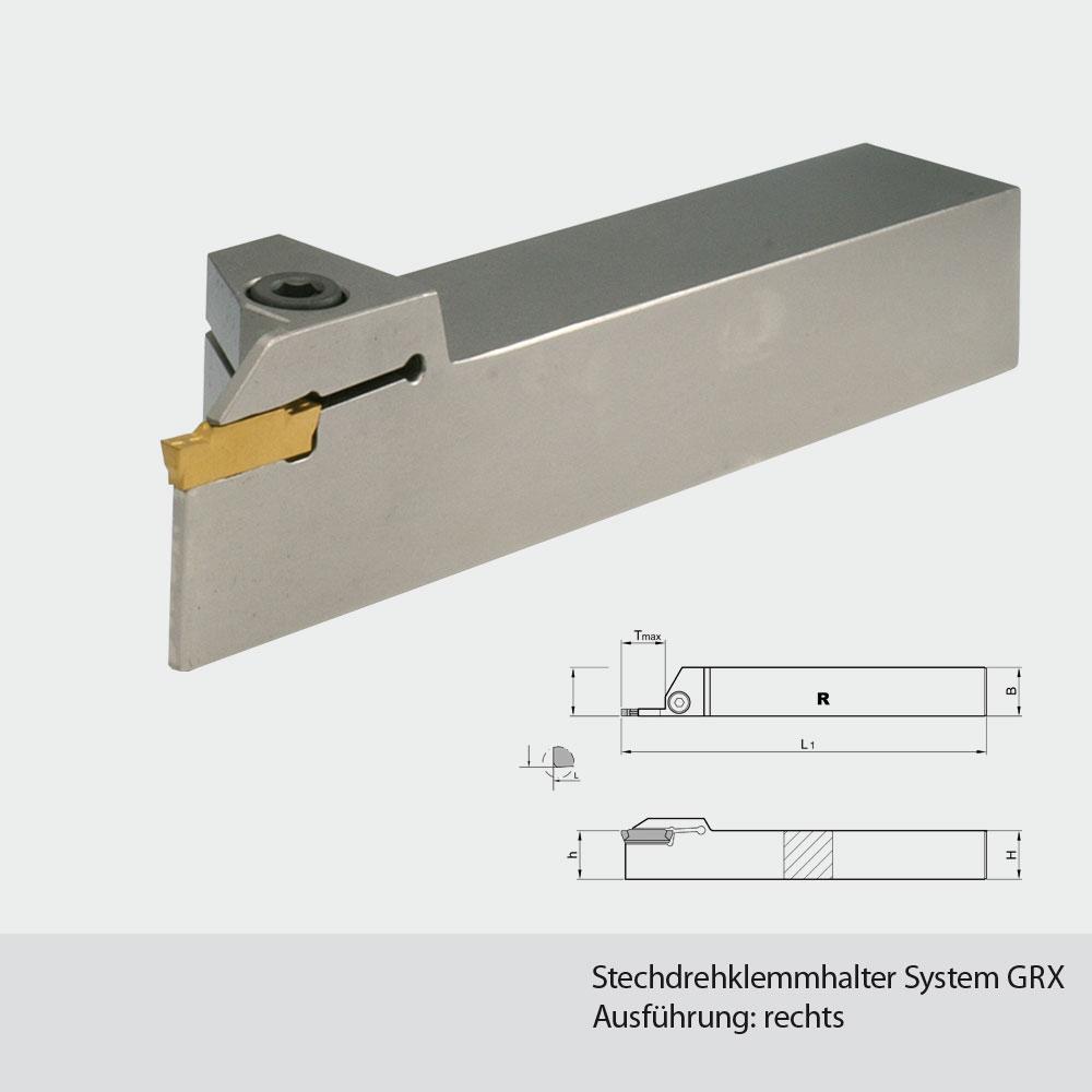 Stechdrehklemmhalter 1212  1616  2020  2525  Breite 1,5mm - 2mm - 2,5mm,3mm,4mm