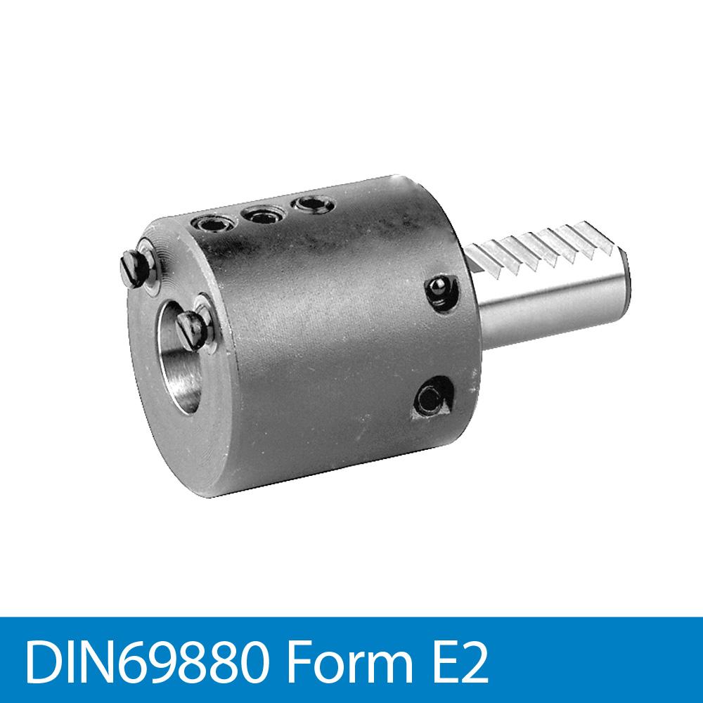 Bohrstangenhalter E2 - VDI20 x 10