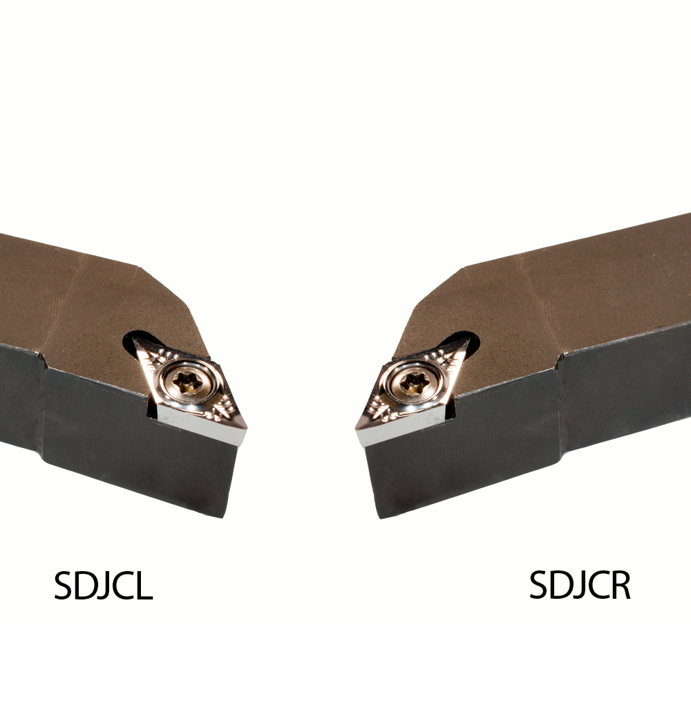CNC QUALITÄT Drehhalter SDJCL 1212 H07 Klemmhalter 10 Wendeplatten DCMT 070202