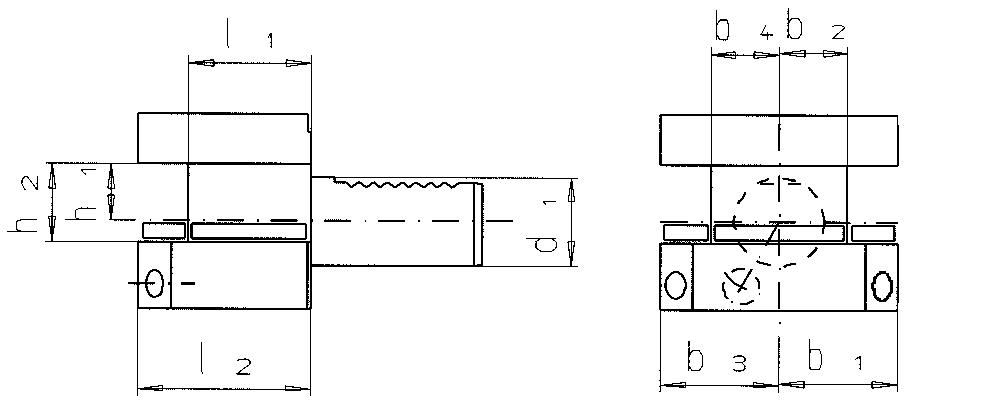 VDI Vierkant- Mehrfachaufnahme